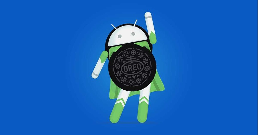 Android Logo with an Oreo Biscuit Body